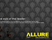 ALLURE MAGAZINE PRESS AD