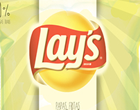 Lay's pack.