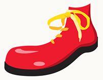 Ronald McDonald House Cincinnati: Red Shoe Crew logo