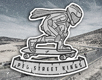 Peg Street Kings Sticker