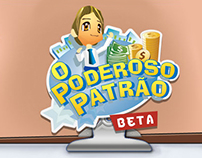 Web Marketing for Poderoso Patrão Game