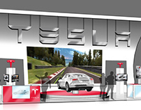 TESLA - TRADE SHOW PROJECT