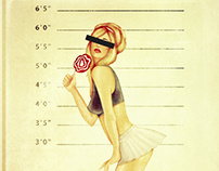 PIN UP MUGSHOT