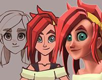 Phreya: Character Design