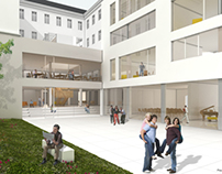 BG/BRG Lichtenfelsgasse. Secondary school refurbishment