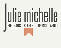 Julie Michelle Photography Portfolio Website