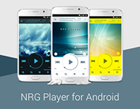 NRG Player - music app for Android