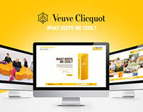 Veuve Clicquot - What keeps me cool?
