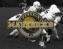 Dundalk Maverick American Football Identity