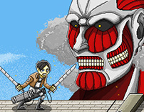 Attack On Pixel Titan