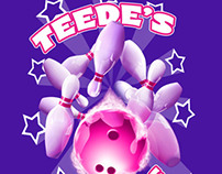 Teede's Girls Bowling Shirts
