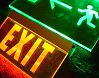 Edge Lit Signage. LED Signs (CRS)