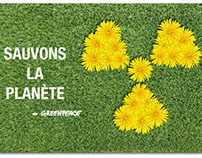 Affiche Greenpeace