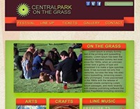 Central Park Web Layout