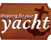 Shopping for your yacht Logo