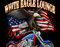White Eagle Biketoberfest 2012 Shirt Design