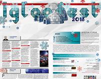 Double page journal pour LaPresse