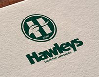 Hawley's Shoes Branding