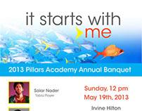 Pillars Academy Fundraiser Flier