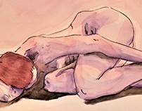 Life Drawing - Watercolor