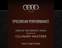 Audi   Epicurean Performance