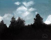 Oil / Finger Painting—Landscape