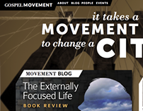 Gospel Movements Website & Brand