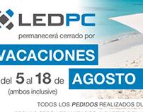 Newsletter Agosto LEDPC
