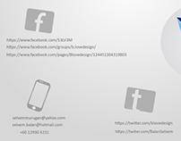 Alphabetic logos design by b.lovedesign