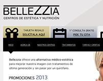 Rediseño Web Bellezzia