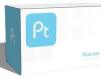 Platinum tea corporate identity project