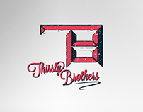 Thirsty Brothers - Brand identity