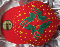 Strawberries & Cream New Era 59Fifty