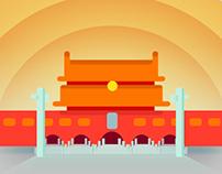 Landmarks of Chinese Cities