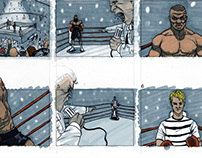 Playstation 3 Commercial Storyboard