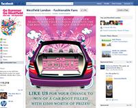 Westfield - Facebook App Illustration and Design