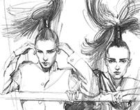 Pencil Sketchings