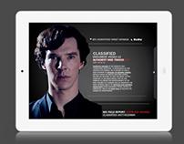 BBC1 Sherlock - 2nd Screen App