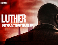 BBC1 Luther - Interactive Trailer
