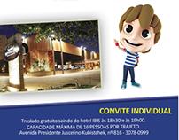 Convite e E-mail Marketing para a The Kids Club