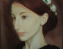 Maria`s portrait