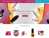 Bright & Bold Responsive E-commerce Theme
