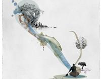 Bell Canoe Poster Series