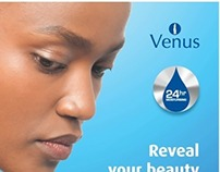 Venus Body Lotion- Rebranding