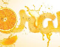 Typography juices