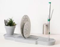Faucet & Dish rack