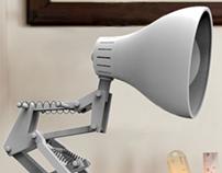Luxo Junior Lamp - Replica Modelling