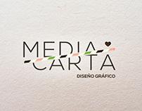 Media Carta - Diseño Gráfico