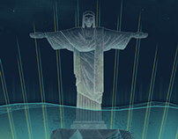 Muse Gig Poster (Brazil)