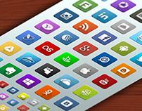 35+ Social Network Vector Icons Set